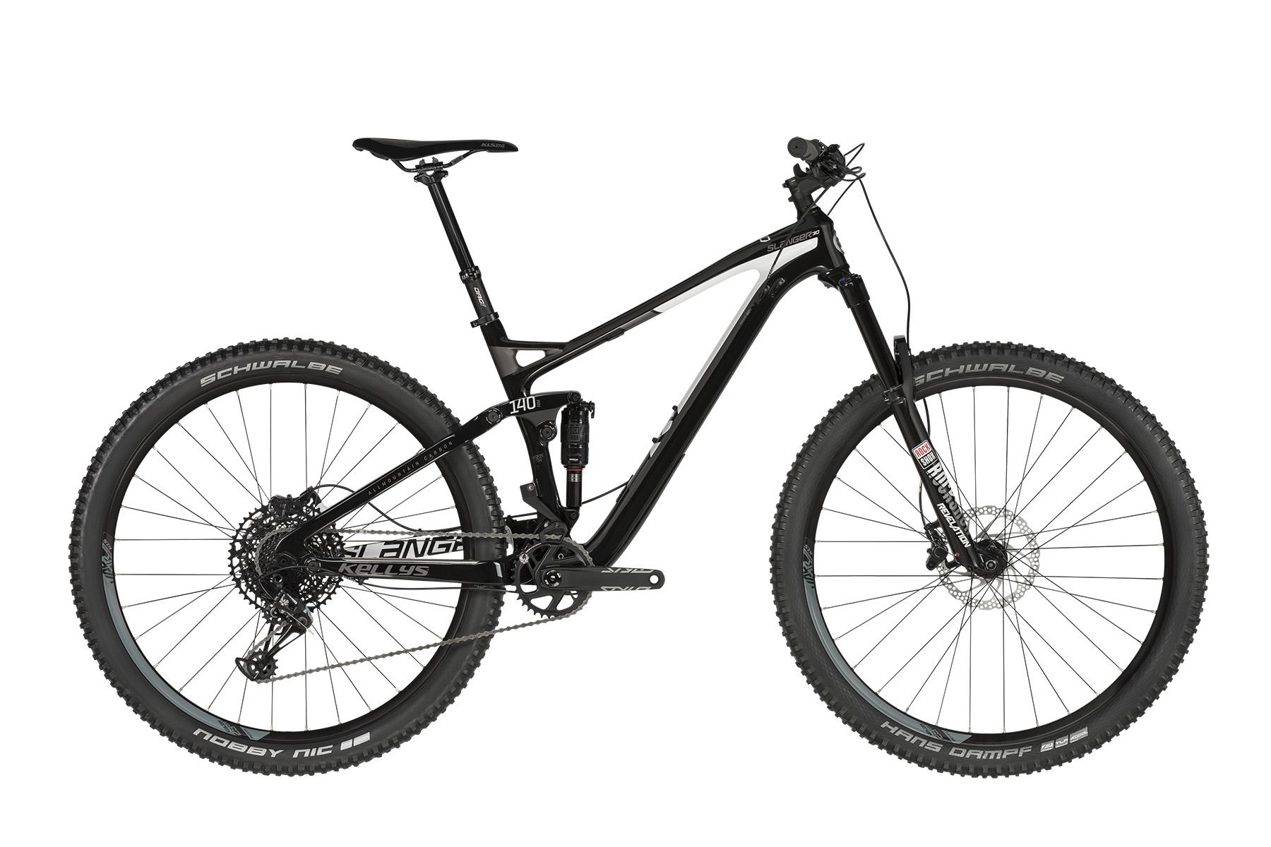 """KELLYS Slanger 30 MTB kerékpár   2019   29"""" - M (45 cm) - fekete"""
