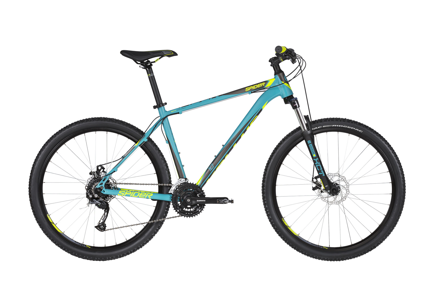"""KELLYS Spider 10 MTB kerékpár   2019   27.5"""" - XS (37 cm) - türkiz"""