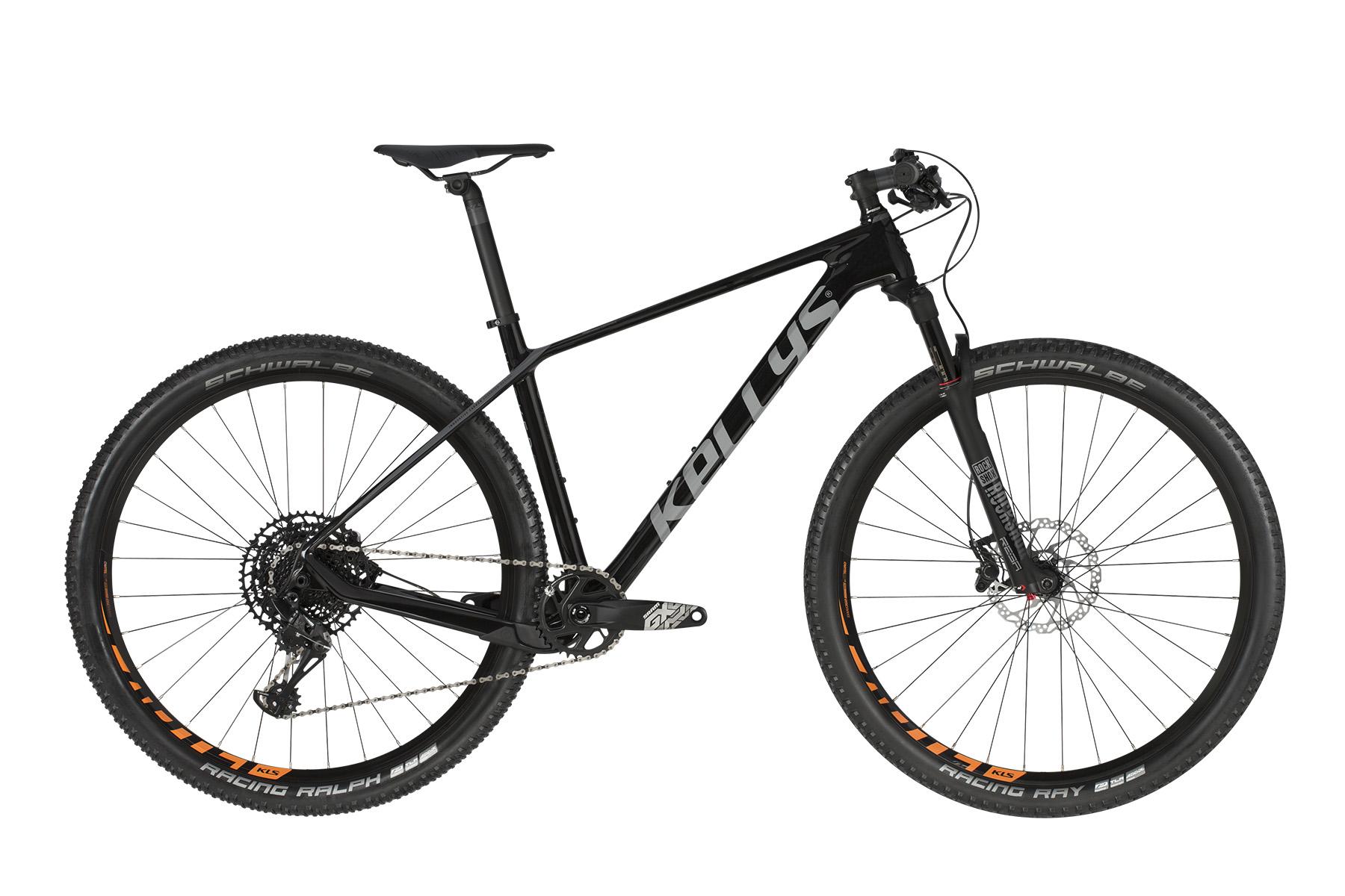 """KELLYS Hacker 50 MTB kerékpár   2019   29"""" - S (42 cm) - fekete"""