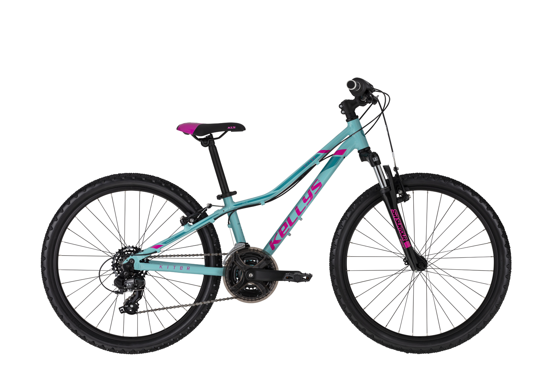 """KELLYS Kiter 50 gyermek kerékpár   2020   24"""" - 28 cm - türkiz"""