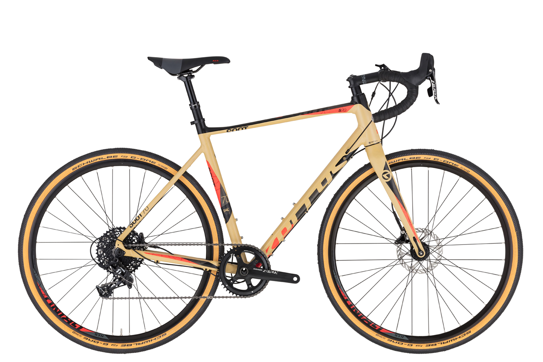 """KELLYS SOOT 70 országúti kerékpár   2020   28"""" - L (54 cm) - bézs"""